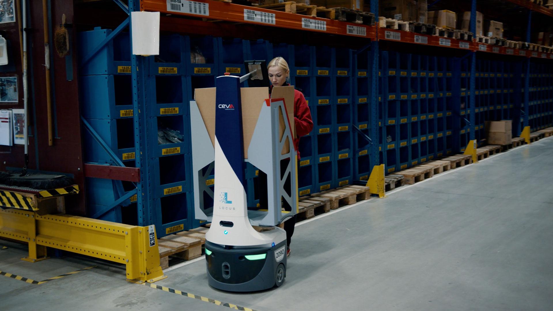 Locus Robotics: CEVA Logistics