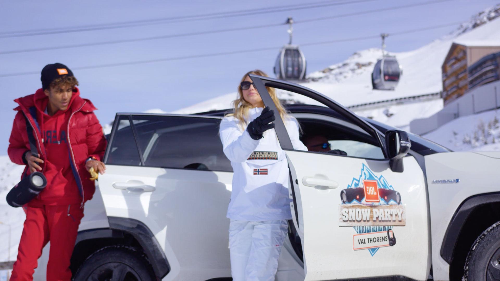 Toyota x JBL Snow Party